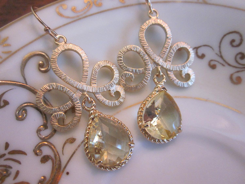 citrine earrings matte gold tiara connectors bridesmaid earrings bridal earrings wedding earri wedding earrings Citrine Earrings Matte Gold Tiara Connectors Bridesmaid Earrings Bridal Earrings Wedding Earrings